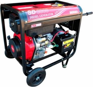 Дизельный генератор Bergo SD 6000