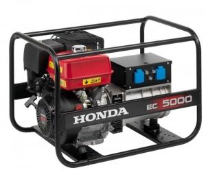 Бензиновый генератор Honda HONDA EC 5000