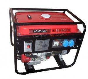 Бензиновый генератор Samson S6,0