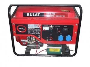 Генератор бензиновый Булат BT7500E (1 фаза)