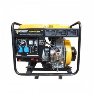 Дизельный сварочный генератор Forte FGD 6500EW со стартером