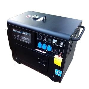 Дизельный генератор Genus DG6700RC-S (ATS)