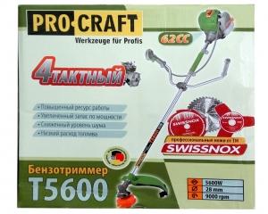 Бензокоса Procraft T-5600 (4-х тактная)