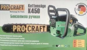 Бензопила Procraft K450