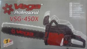 Бензопила VEGA VSG-450X Professional