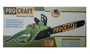 Электропила цепная Procraft K-1800