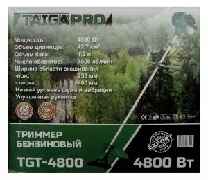 Бензокоса TaigaPro TGT-4800 (5 ножей, 2 катушки)