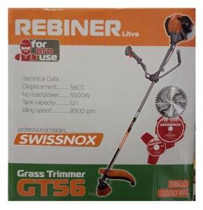 Бензокоса Rebiner GT-56