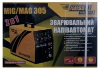 Сварочный полуавтомат Kaiser MIG-305(+MMA)