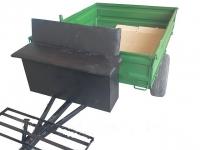 Прицеп для мотоблока под жигулёвские ступицы (без колёс)