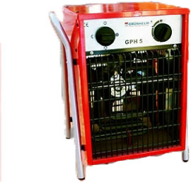 Электрический обогреватель Grunhelm 5 kW GPH5