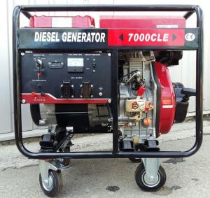 Дизельный генератор Weima WM7000CLE